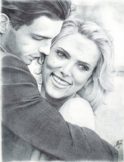 Scarlett Johansson por Allan